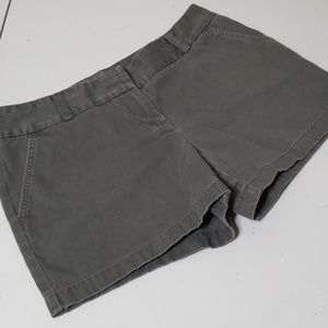 J CREW CITY FIT OLIVE SHORTS size 10